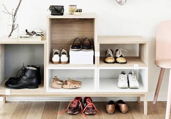 <b>无处安放鞋子有太多 这些创意办法打造超能装的鞋柜</b>