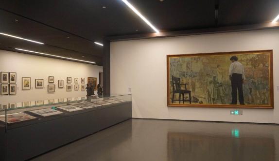 今天 我们用30件作品回望新中国美术70