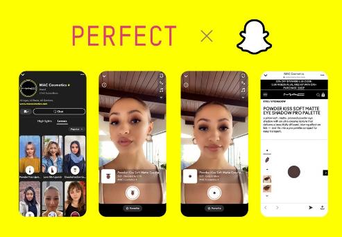 玩美移动联合Snap Inc. 带来AR虚拟试妆购物体验