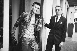 <b>时尚名流强势集结 胡兵足迹遍欧洲玩转时装周</b>