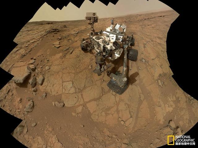 震撼影像:火星实地探测20周年