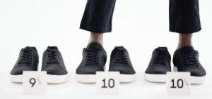 左脚39.75码右脚40.25码,运动鞋品牌Atoms瞄准运动鞋消费升级