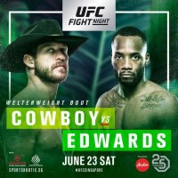 UFC Fight Night 132:爱德华斯判定挫败塞罗尼