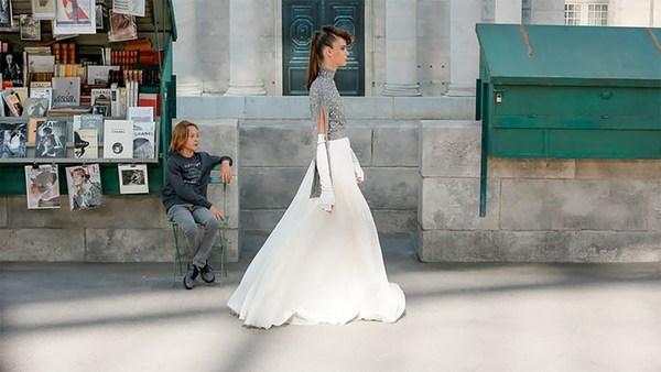 Chanel 2018秋冬高级定制秀   图片来自品牌