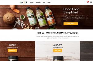 让创业者能用最短时间吃完一顿健康餐!Ample Foods 完成200万美
