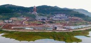 72米孔子像将于中秋节在曲阜尼山亮相