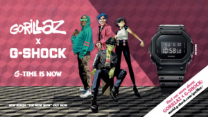 经典与传奇 风潮再起――G-SHOCK×GORILLAZ推出合作限量礼盒