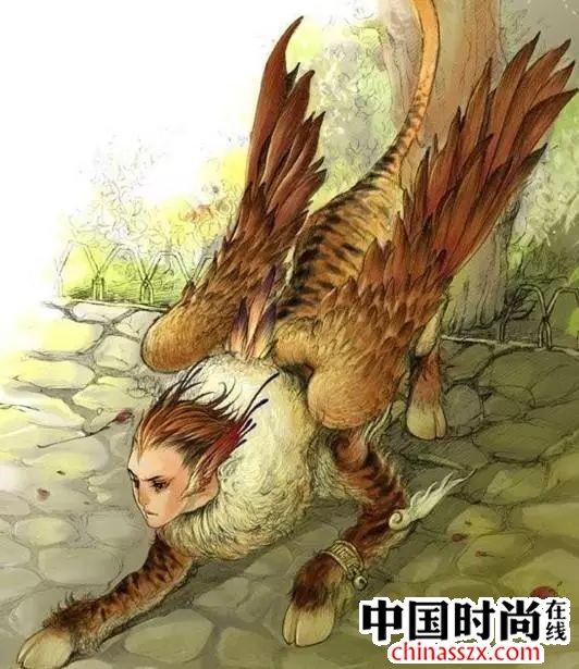 中国人的想象力真是不可限量:《山海经》里的神秘异兽