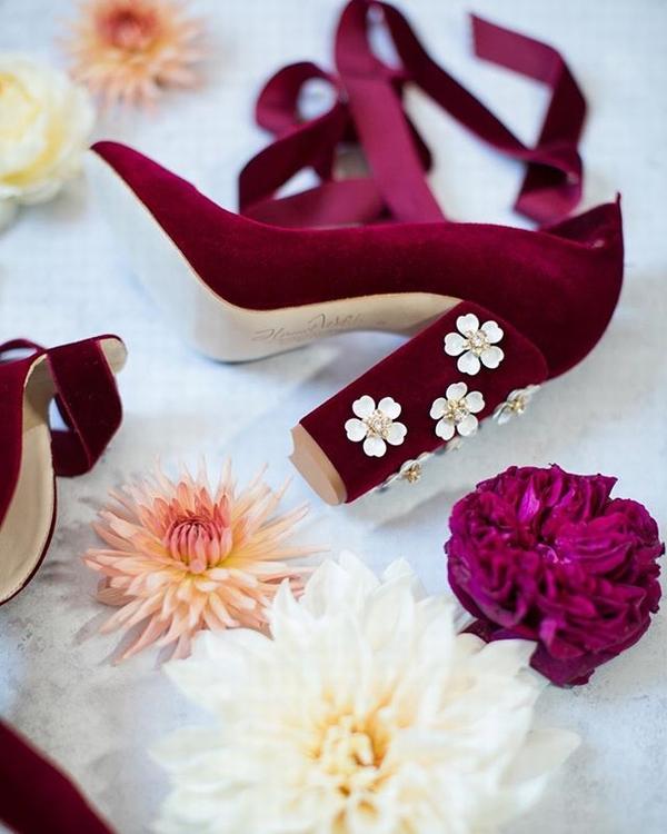 小众婚鞋品牌Harriet Wilde  图片源自品牌官方ins