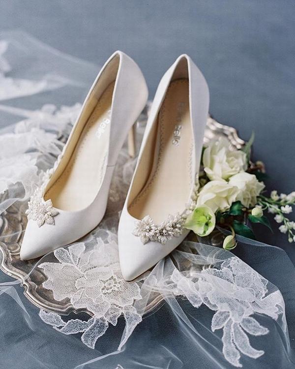 小众婚鞋品牌Bella Belle  图片源自品牌官方ins
