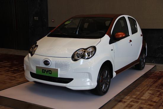 4月1日上市 比亚迪微型电动车e1正式亮相