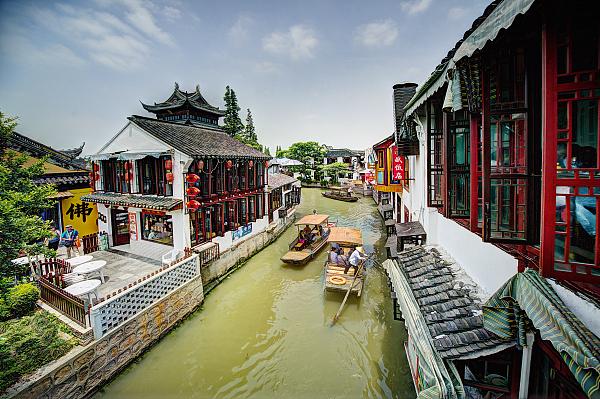上海古镇踏春地图来一个 为清明小长假做准备!