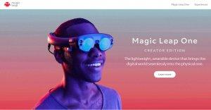 AR设备生产商Magic Leap获日本最大移动运营商2.8亿美元投资