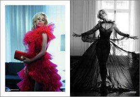 国际巨星莫妮卡・贝鲁奇佩戴萃华手包登上法国著名时尚
