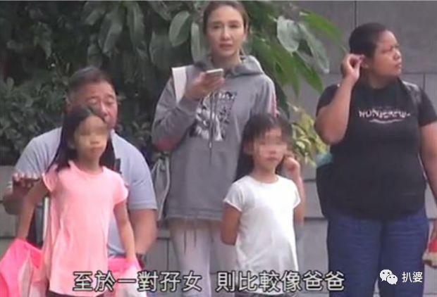 3个女儿全像爹,大美人黎姿的颜值传承也悲剧了?