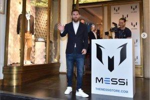 足球巨星梅西正式推出同名男装品牌 Messi,价格不贵每
