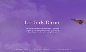 """为年轻女性发声,Gucci 发起反童婚项目""""LetGirlsDream"""""""