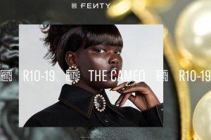 LVMH 集团与蕾哈娜联手打造的 Fenty 品牌推出浮雕珠宝