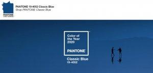 Pantone 公布2020年度色彩:经典蓝(C