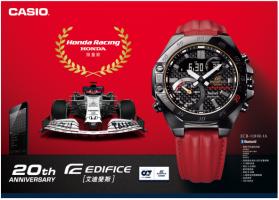 <b>卡西欧发布本田赛车联名表款,纪念EDIFICE诞生20周年</b>