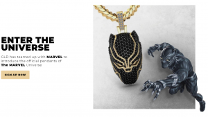 漫威英雄形象变身珠宝首饰!美国珠宝品牌GLD与漫威公司跨界合作