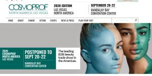 2020年Cosmoprof博洛尼亚美妆展取消;