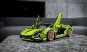 全新乐高机械组Lamborghini Sián FKP 37跑车重磅上市亮相于微型