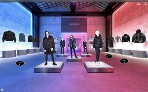 Diesel 推出数字化 showroom,为全球买手提供沉浸式虚拟采买体验