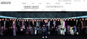 Armani 再次举办无人观看的时装秀:将通过电视台与社交媒体进行直播