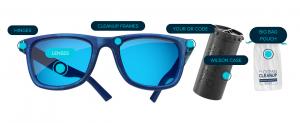 """买这样一副眼镜可以支持""""24个足球场""""面积海洋的塑料垃圾清理工作"""