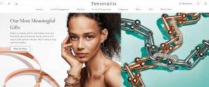 """Tiffany最新季报:中国大陆销售额同比增长超70%;品牌官网""""流量势头不断增长"""""""